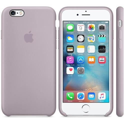 Coque Apple pour iPhone 6s en silicone Lavande