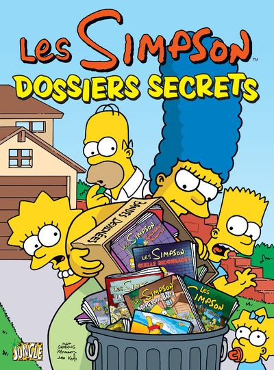 Les Simpson - tome 7 Dossiers secrets