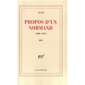 Propos d'un Normand (Tome 3)