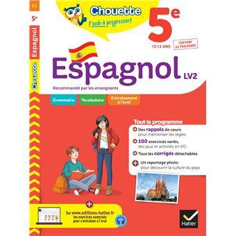 Espagnol 5e Lv2 A1 Vers A2