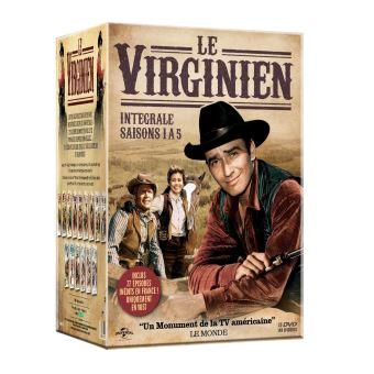 Le VirginienCoffret Le Virginien Saisons 1 à 5 DVD
