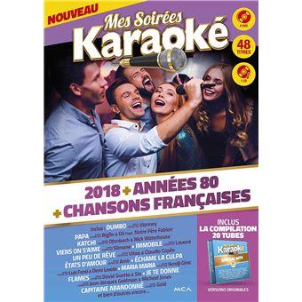 Mes Soirées Karaoké 2018 Coffret DVD