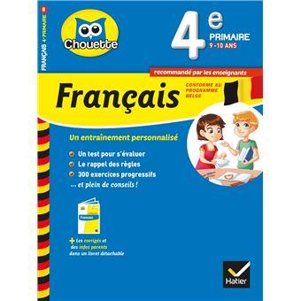 Chouette 4e primaire francais belgique