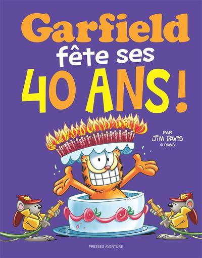 Garfield fête ses 40 ans !