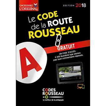 code rousseau de la route b 2018 broch collectif livre tous les livres la fnac. Black Bedroom Furniture Sets. Home Design Ideas