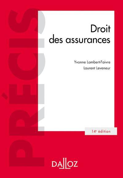 Droit des assurances - 14e ed.