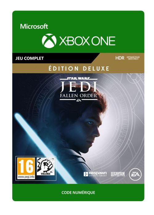 Code de téléchargement Star Wars : Jedi Fallen Order Edition Deluxe Xbox One
