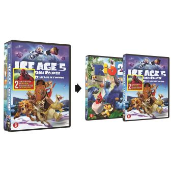 Ice age:collision course/Rio 2-DUO-PACK-BIL