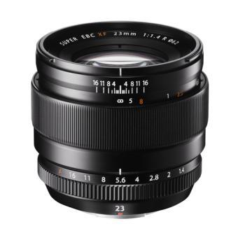 Fujifilm XF 23mm f / 1.4 zwarte hybride lens
