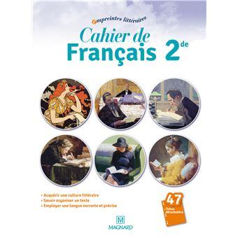 Cahier De Francais 2nde