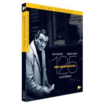 125, Rue Montmartre Edition Limitée Combo Blu-ray DVD