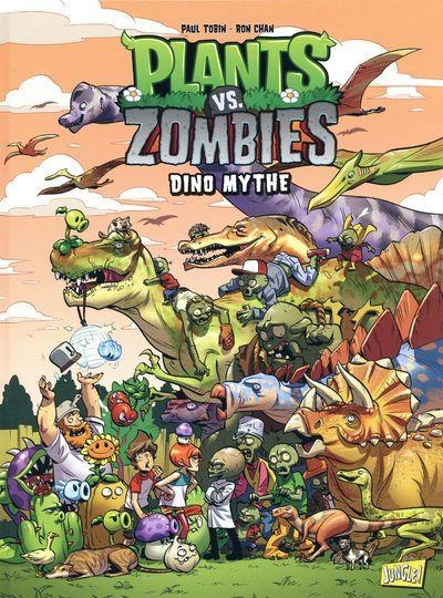 Plants vs zombies - tome 12 Dino mythe