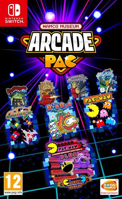 Namco Museum Arcade PAC Nintendo Switch