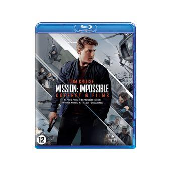 Mission: Impossible 1-6 Coffret Blu-ray - FR