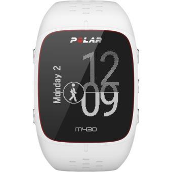 Montre GPS de running Polar M430 Blanche