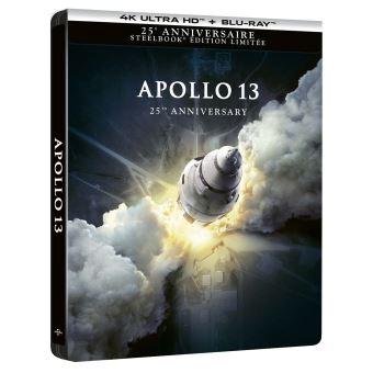 Apollo 13 Steelbook Edition Collector Blu-ray 4K Ultra HD