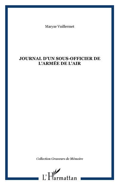 Journal d'un sous-officier de