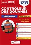 Concours Contrôleur des douanes - Catégorie B - Tout-en-un