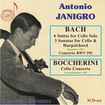 Suites et sonates pour violoncelle - Concerto pour violoncelle