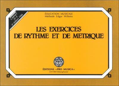 Les exercices de rythme et de métrique