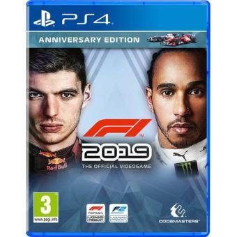 F1 2019 anniversary edition FR/NL PS4