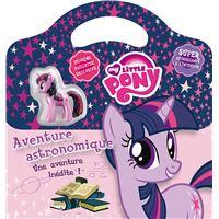 My little pony : livre valisette : twilight sparkle : aventure astronomique