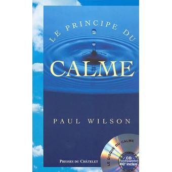 Couverture de Le principe du calme