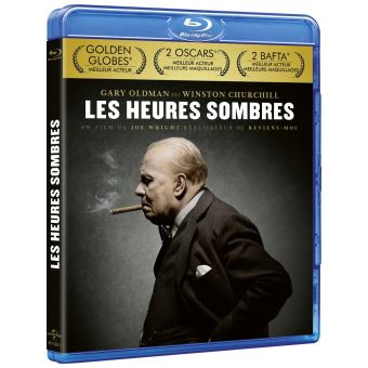 Les heures sombres Blu-ray