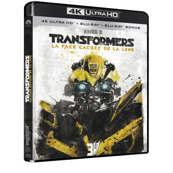 TransformersTransformers 3 La face cachée de la lune Blu-ray 4K Ultra HD