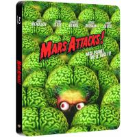 Mars Attacks ! Edition Steelbook Blu-Ray
