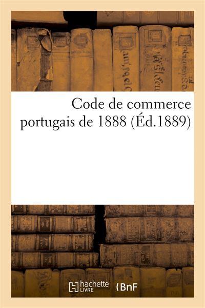 Code de commerce portugais de 1888
