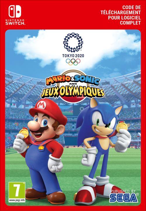 Code de téléchargement Nintendo Switch Mario et Sonic aux Jeux Olympiques Tokyo 2021