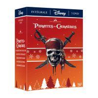 Coffret Pirates des Caraïbes 5 Films DVD