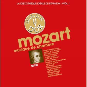 La discothèque idéale de Diapason, volume 1 - Mozart : Musique de chambre