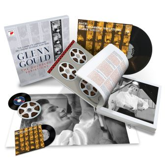 Bach : The Goldberg Variations The Complete 1955 Recording Sessions Coffret Edition limitée Inclus un livre illustré de 260 pages et un poster