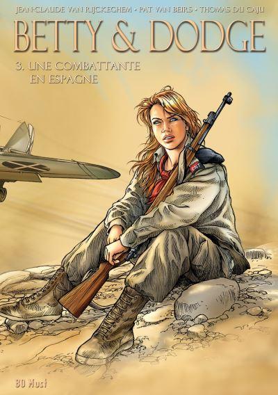 Une combattante en Espagne