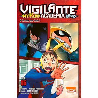 VigilanteMy Hero Academia Illegals
