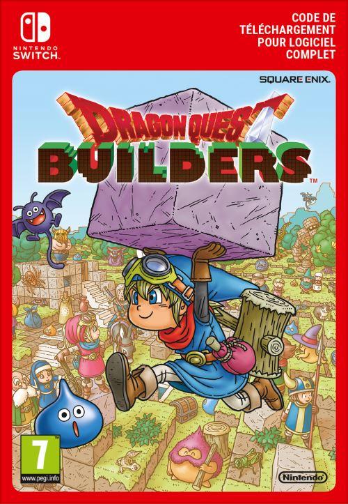 Code de téléchargement Dragon Quest Builders Nintendo Switch