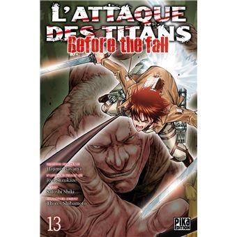 L'attaque des TitansL'Attaque des Titans - Before the Fall