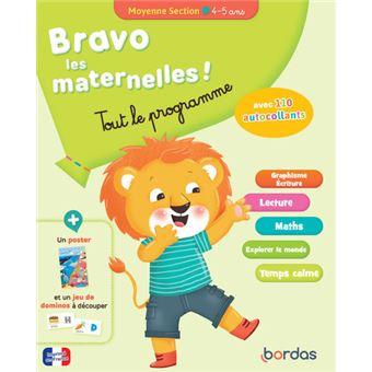 Bravo les maternelles - Tout le programme - Moyenne section 4-5 ANS