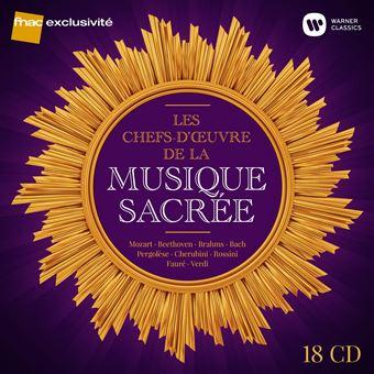 Les Chefs d'œuvre de la musique sacrée Coffret 18 CD Exclusivité Fnac