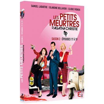 Les petits meurtres d'Agatha ChristieLes petits meurtres d'Agatha Christie Saison 2 DVD