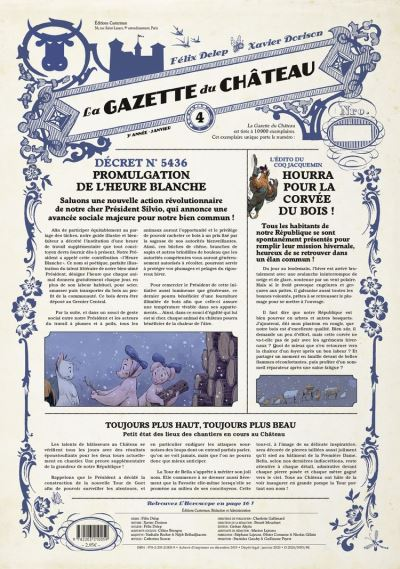 La Gazette du château (Tome 4)