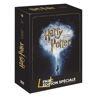 Harry PotterHarry Potter L'intégrale des 8 films Edition spéciale Fnac DVD