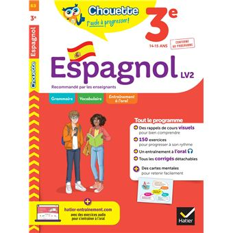 Espagnol 3e Lv2 Niveau A2