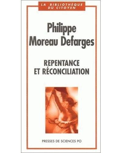 Repentance et réconciliation