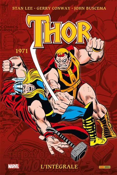 Thor : L'intégrale T13 (1971)