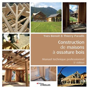livre technique construction maison ossature bois