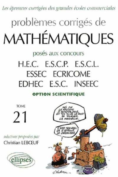 Annales de mathématiques HEC option scientifique