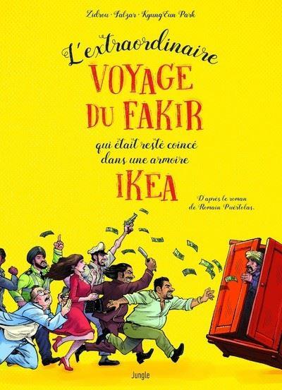 L'extraordinaire voyage du fakir qui était coincé dans une armoire